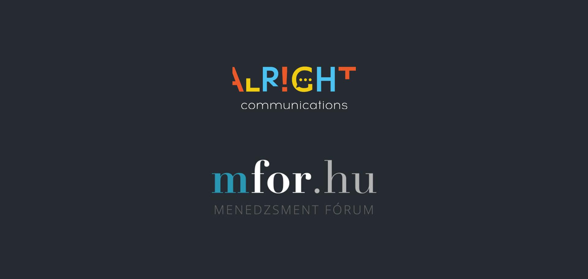 A Menedzsment Fórum is ajánlja a kommunikációt segítő tanulmányunkat